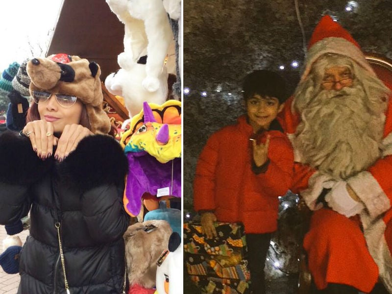 Shilpa Shetty And Viaan Are Having A Merry Christmas In London