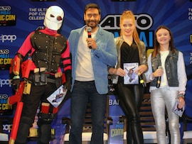 <I>Shivaay</i>'s Ajay Devgn, Erika Kaar And A Comic Show