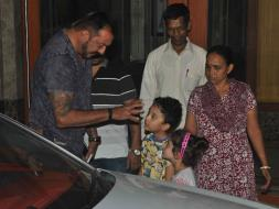 Photo : Sanjay Dutt Just Can't Get Enough of Shahraan, Iqra