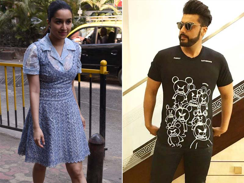 Arjun Kapoor Spotted On Date with Half Girlfriend Shraddha Kapoor
