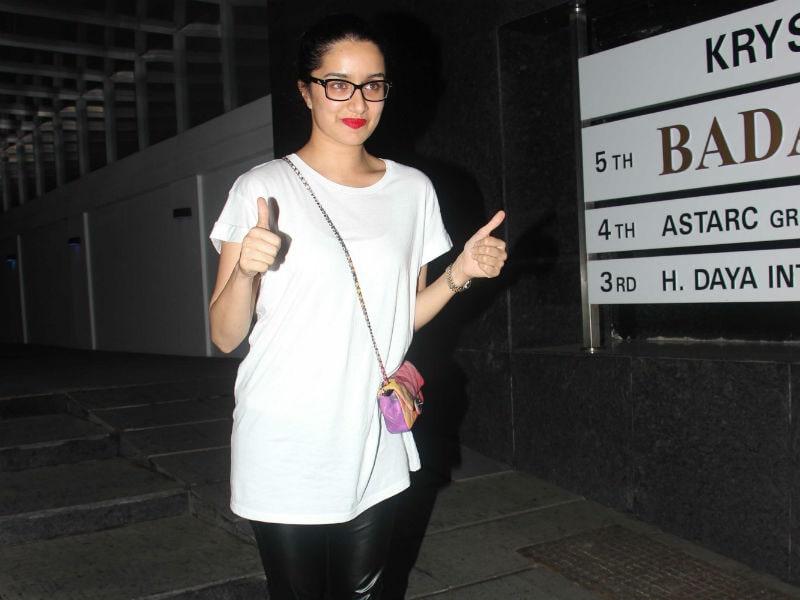 Haseena Shraddha Kapoor On The City Roads