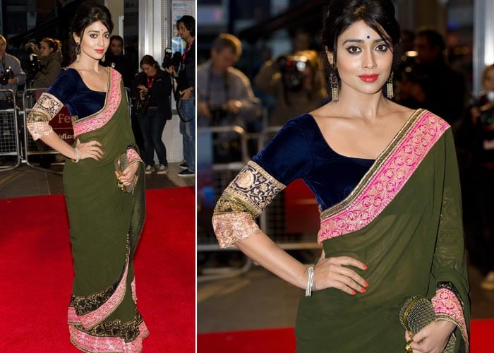 Midnight's Child: Elegant Shriya Saran