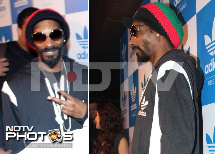 Minissha, Sophie party with Snoop Lion