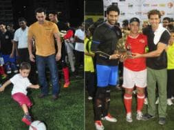 Photo : Bend it Like Bollywood: Salman, Aamir, Hrithik, Abhishek Have a Field Day