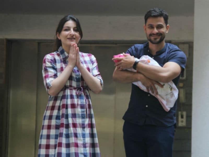 Soha Ali And Kunal Kemmu Welcomed Inaaya Home