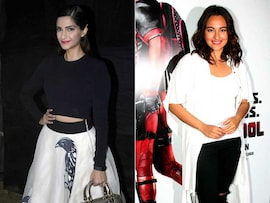 So Much <I>Sona</i>: Sonam, Sonakshi's Busy Tuesday