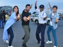 Photo : Dishoom Stars Moonwalk Into the Heart of Indore