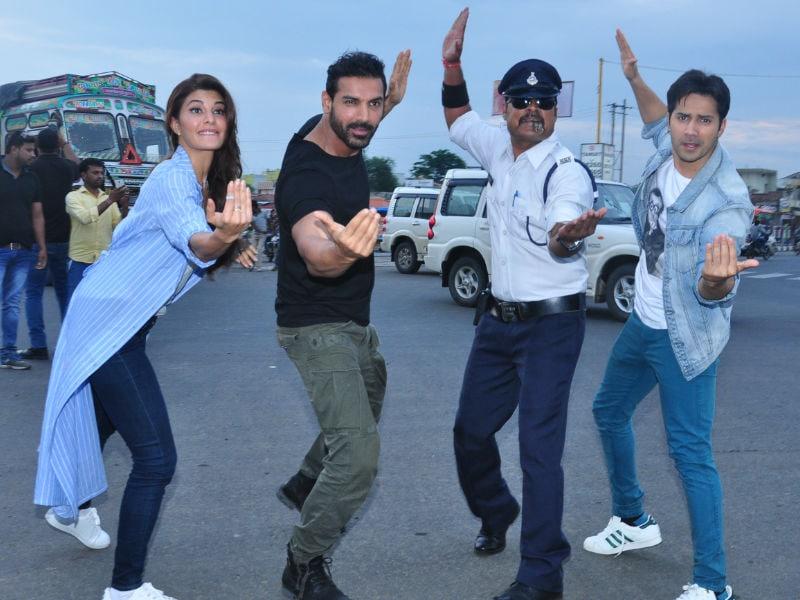 Dishoom Stars Moonwalk Into the Heart of Indore