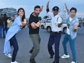 <i>Dishoom</i> Stars Moonwalk Into the Heart of Indore