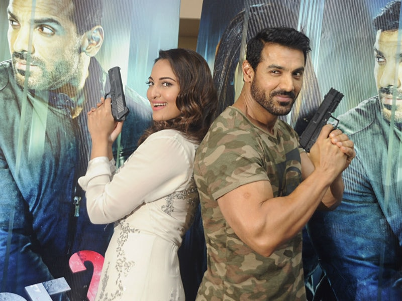 Sonakshi Sinha, John Abraham Let Out Their Inner Force