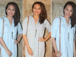 Photo : Sonakshi's Freaky Film Outing