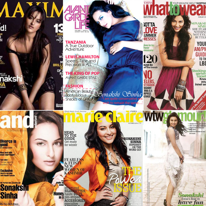 sonakshi cover Rising Star of Bollywood, Sonakshi Sinha bollywood gallery 