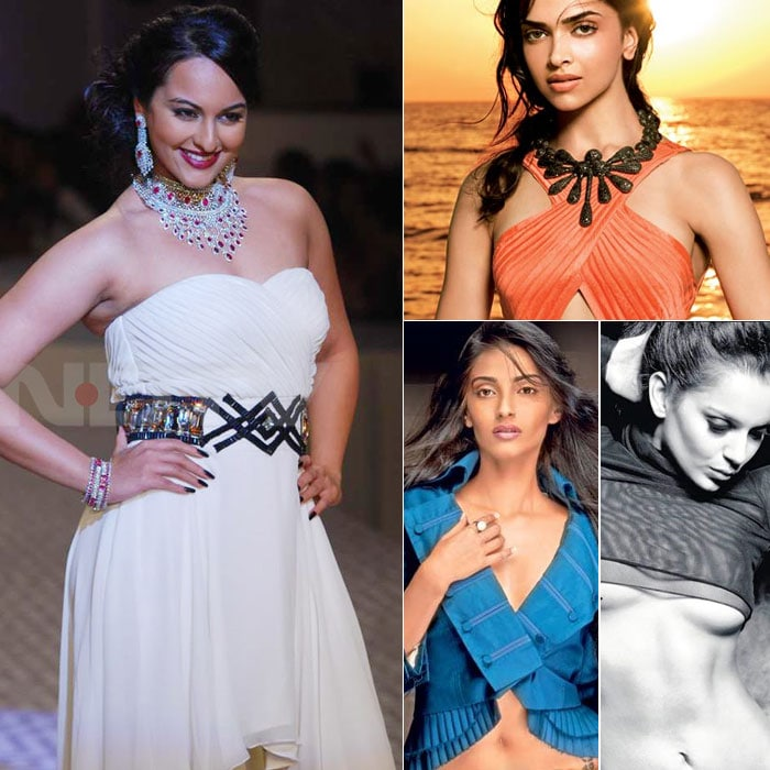 sonakshi kangna deepika Rising Star of Bollywood, Sonakshi Sinha bollywood gallery