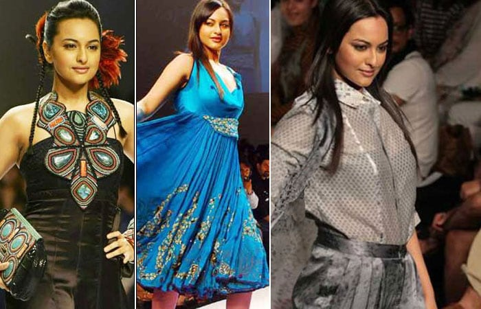 sonakshi ramp Rising Star of Bollywood, Sonakshi Sinha bollywood gallery