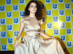 Photo : Kangana Ranaut Stuns in Silk and Curls