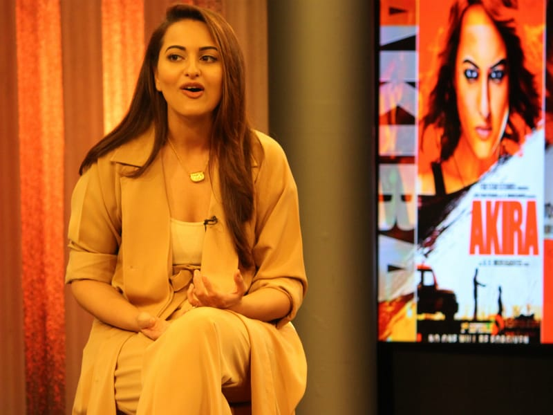 Sonakshi Sinha's Action-Packed Akira Day At NDTV Studio