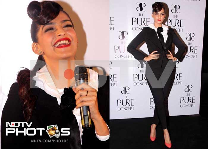 Sonam scores a gender bending fashion hit