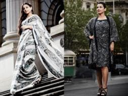 Photo : Behind the curves: Vidya's made-in-Oz photoshoot