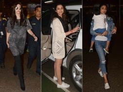 Photo : Sonam, Parineeti, Shilpa Tell Us How To Fly In Style