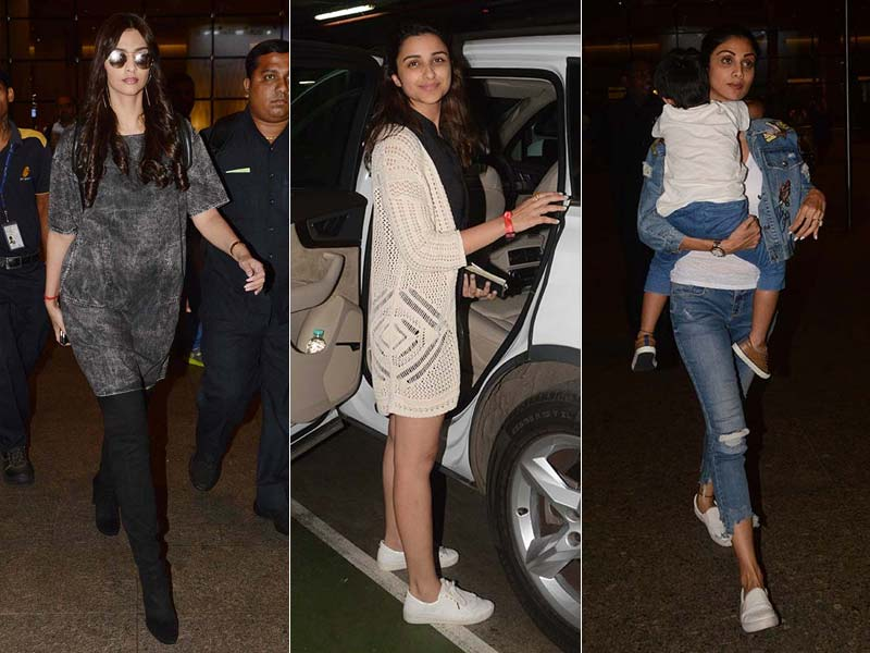 Sonam, Parineeti, Shilpa Tell Us How To Fly In Style