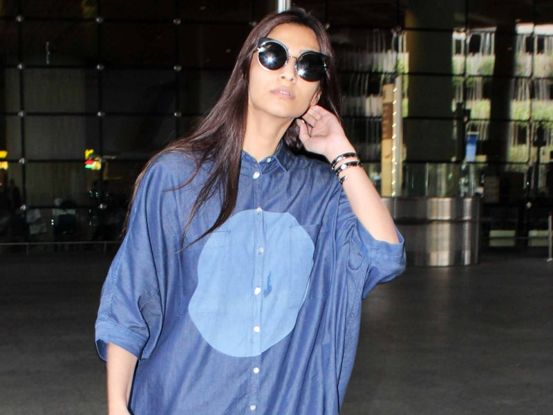 Sonam Kapoor Set The Bar High On The Fashion Meter