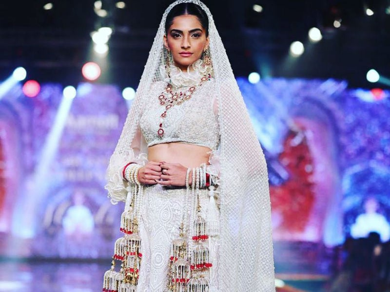 Meet Sonam Kapoor, The Ethereal Bride