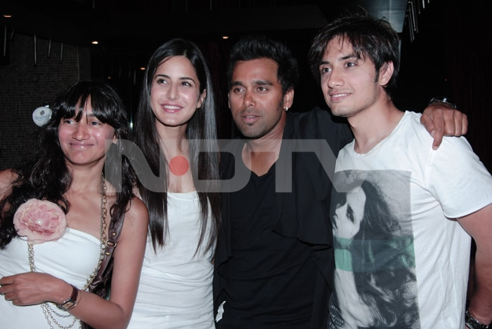 Katrina, Imran at Ali Zafar's birthday bash