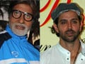 Photo : Spotted: Big B and Hrithik