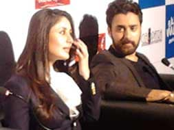 Photo : Imran, Kareena promote new film