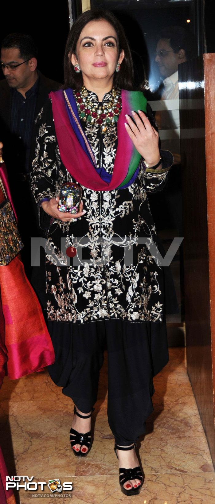 Spotted: Nita Ambani at the Business Awards