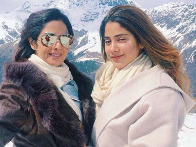 Sridevi and Jhanvi's Selfie Will Give You Major Vacation Goals
