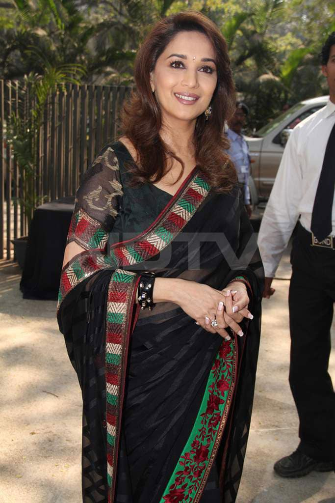 Spotted: Madhuri at Food Channel launch