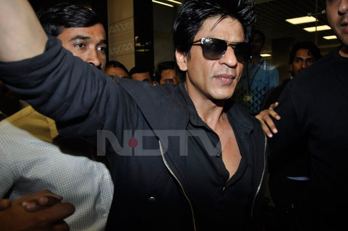 Spotted: SRK, Salman at the airport
