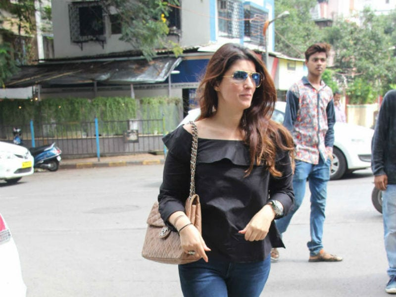Twinkle Khanna's Day Out
