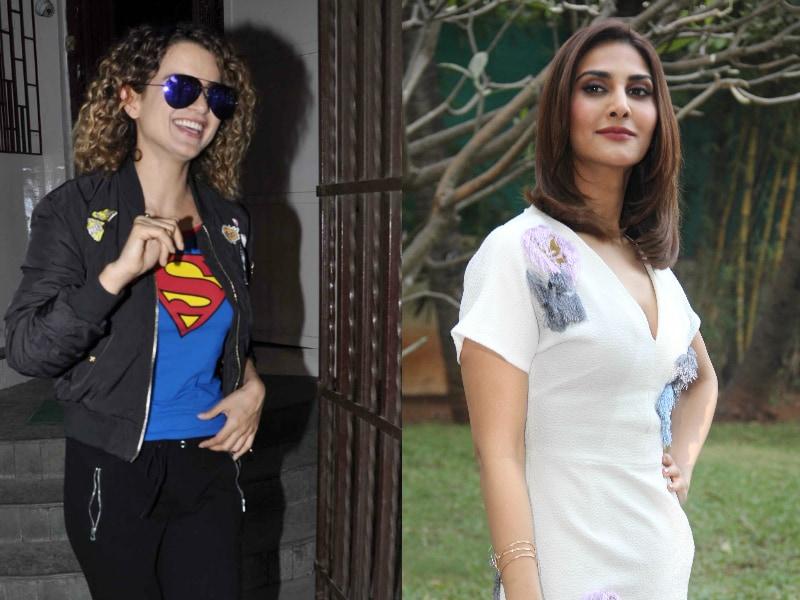 Meet Superwoman Kangana Ranaut And Befikre Vaani Kapoor