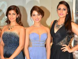 Photo : A Glittering Night With Nimrat, Huma, Tamannaah