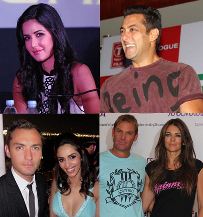 Salman, Katrina put on their best