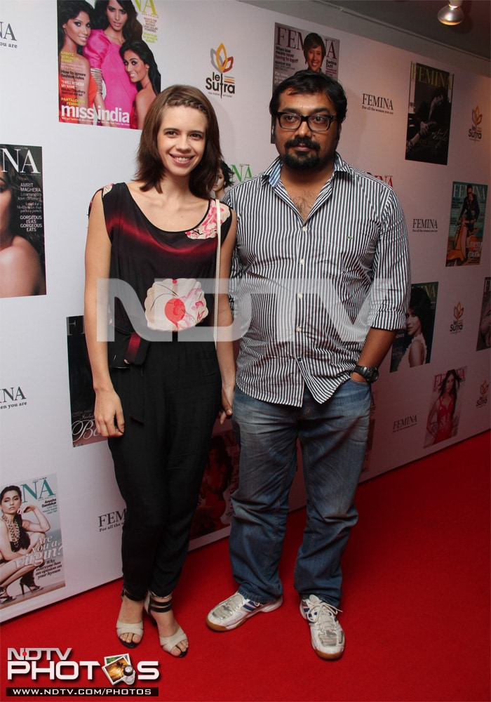 Star Spotting: Zarine and Kalki!