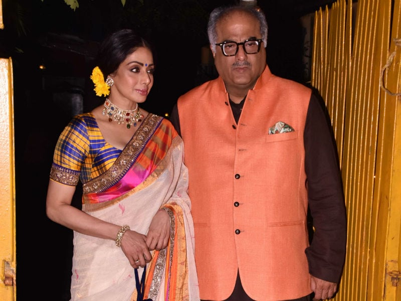 Sridevi Lights Up This Diwali Party
