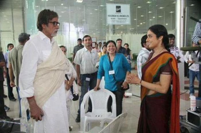 It's yesterday once more for Sridevi and Big B