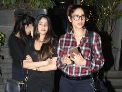 Photo : Dine Out With Sridevi, Jhanvi, Hrithik