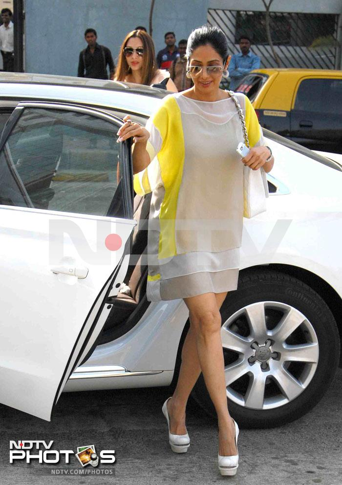 Sridevi at Neeta Lulla's birthday brunch