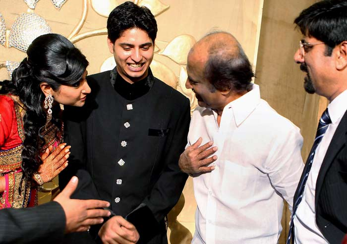 Star-studded wedding of Srikkanth's son