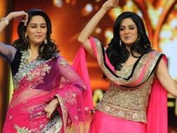 Photo : Ex-rivals Sridevi, Madhuri dance together