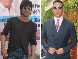 Photo : Shah Rukh Khan, Akshay Kumar's Day To Make A Difference