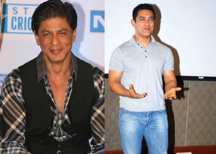 Spotted: SRK and Aamir!