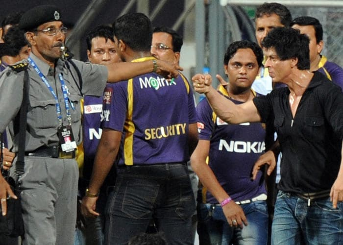 SRK's scuffle at Wankhede stadium