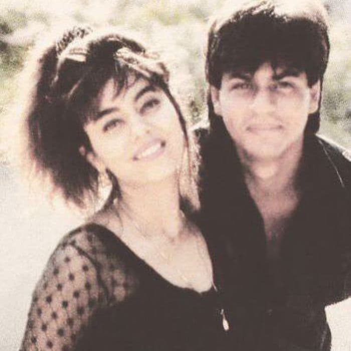 Image result for shahrukh and gauri