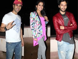 Photo : Team  Fukrey throw a party