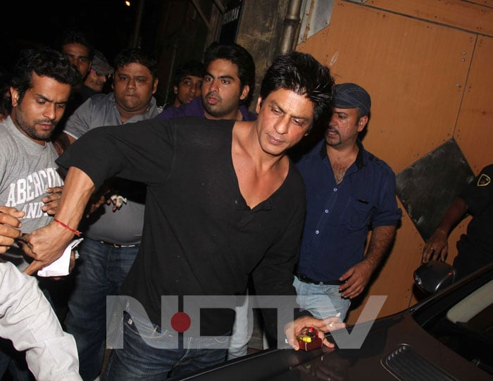 SRK's birthday bash for KJo